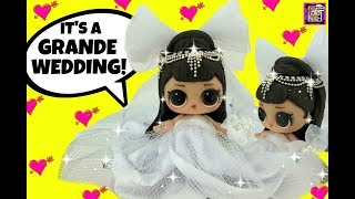 Ariana Grande's Stunning Wedding GG LOL Surprise Bride Doll Custom Beach Wedding Pete or Punk Boi ?