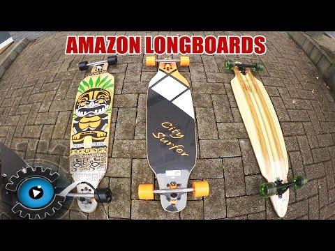 Sind günstige Amazon Longboards ihr Geld wert? Test/Review [Deutsch/German]