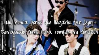 Jonas Brothers - Dance Until Tomorrow (Traducida al español)