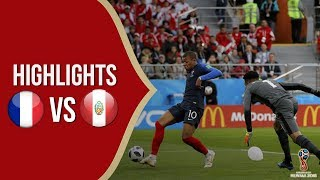 Cuplikan Video Hasil Pertandingan Piala Dunia 2018: Timnas Prancis Vs Timnas Peru