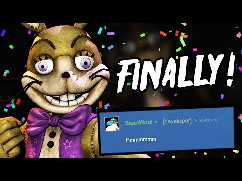 STEEL WOOL ARE WORKING ON SOMETHING...    Five Nights at Freddy's VR: Help Wanted NEWS