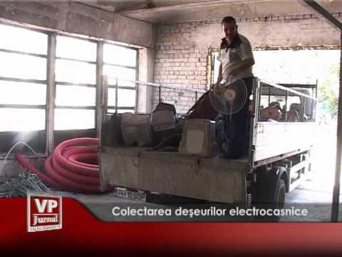 Continuă colectarea deşeurilor electrocasnice