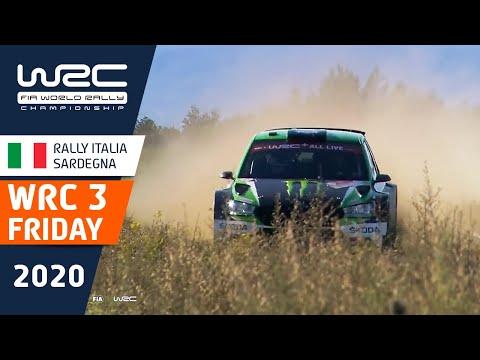 WRC3 ラリー・イタリア・サルディニア 金曜日に行われたラリーのハイライト動画