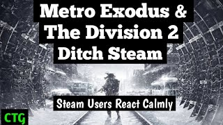 Metro Exodus & The Division 2 Get Poached by Epic