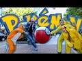 Pokémon Go Funny Prank!! - Dressed as Real #Pokemon