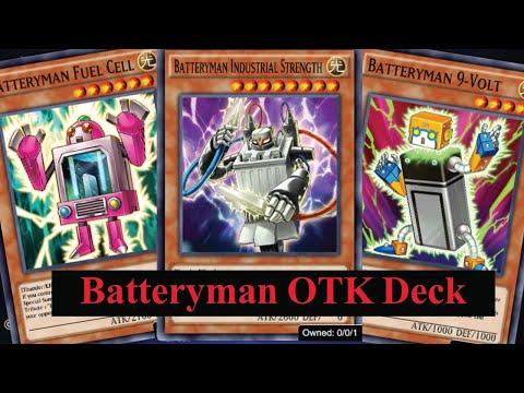 (Yu-Gi-Oh! Duel Links)รีวิว  Batteryman OTK เล่นมัน ทำลายการ์ด ไล่ขึ้นมือ เล่นง่าย(EP.471)