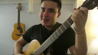 "Aventura - ""Obsession"" Como Tocar Guitarra (Tutorial Facil!!)"