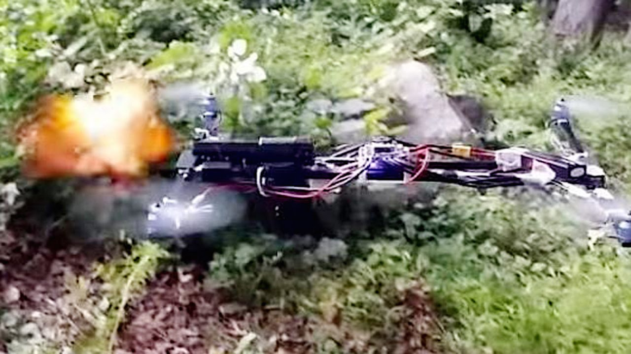 Gun Strapped To A Flying Drone Is Legal [VIDEO] thumbnail
