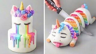 Amazing Birthday Cakes Decorating Ideas 2019 |  Most Satifying Cake Tutorial