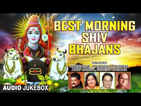 Best Morning Shiv Bhajans By HARIHARAN, ANURADHA PAUDWAL, SURESH WADKAR, ANUP JALOTA I Audio JukeBox