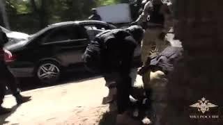 Задержания преступников, оперативная съемка