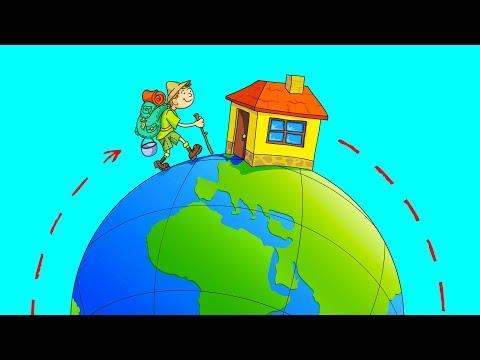 ¿Cuánto Te Tardarías En Caminar Alrededor Del Mundo?