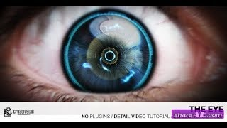 the eye videohive - free download after effects template