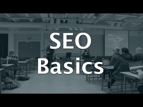 Search Engine Optimization crash course - YouTube