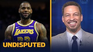 Chris Broussard expects a 'reinvigorated' LeBron as Lakers vie for a playoff spot | NBA | UNDISPUTED