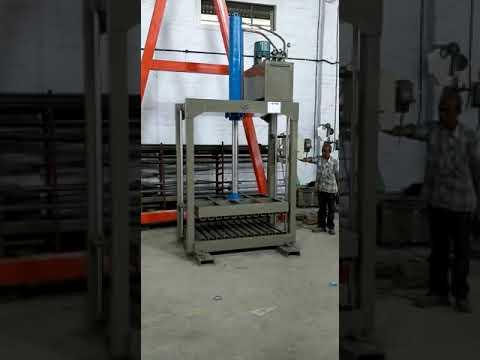 FIBC Big Bag Palletizing Hydraulic Press