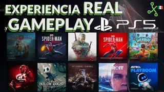 PS5 experiencia de uso REAL y Gameplay con la nueva generación de SONY