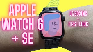 Apple Watch Series 6 & Apple Watch SE Unboxing & First Look
