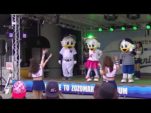千葉ロッテマリーンズ チアリーダーM☆Splash!!ダンスショー(一部音なし)20180517