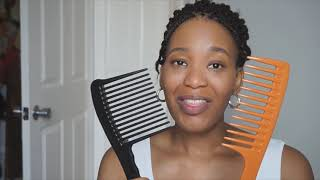 The BEST And Worst Detangling Tools For 4c Hair