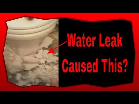 Plumbing How To Water Leaks Cause Floor Damage