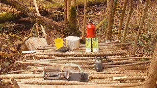 preview picture of video 'Construction d'une table bushcraft - Libres&Natures'