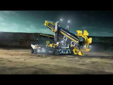Vidéo LEGO Technic 42055 : La pelleteuse à godets