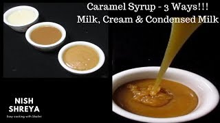 easy caramel recipe with sweetened condensed milk