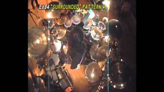 Surrounded Drum Patterns - Mike Portnoy [HQ]