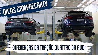 Diferenças da tração quattro da Audi