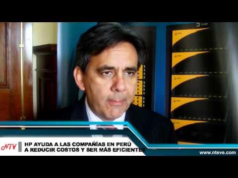 HP ayuda a las compañías en Perú a reducir costos y ser más eficientes