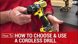 How To Choose A Cordless Drill or Impact Driver - Ace Hardware