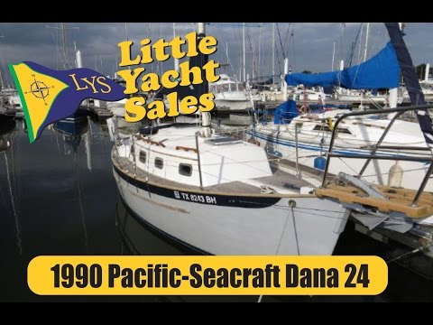 SOLD!!! Pacific Seacraft Dana 24 Sailboat for sale at Little Yacht Sale, Kemah Texas