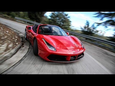 Ferrari 488 Spider : notre premier essai exclusif et toutes les infos [VIDEO]