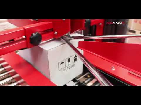 Case Sealer Machine With Auto Flap Closure