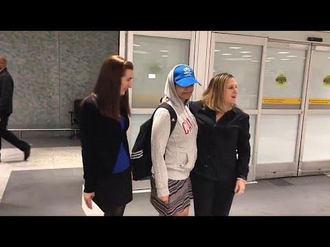 Η 18χρονη Ραχάφ έφτασε με ασφάλεια στον Καναδά