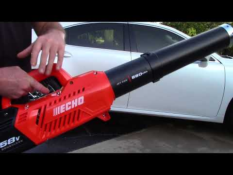 Why A Leaf Blower Is Safer Than A Metro Vac – Echo 58v Cordless Blower Review