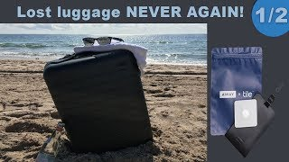 Best Luggage Tracker 2017 Review with Away X Tile Luggage Tag - Part 1 + 2