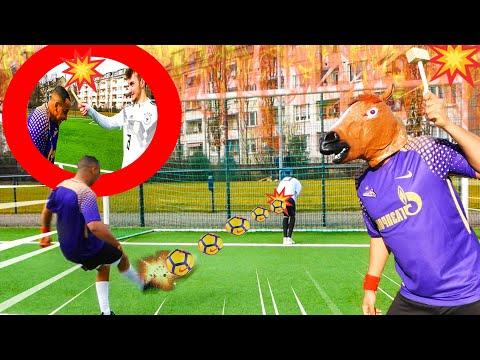 Extreme Fussball Challenge Harte Bestrafung Ii Schmerzhaft