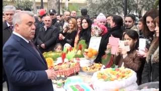 Göyçayda Novruz bayrami