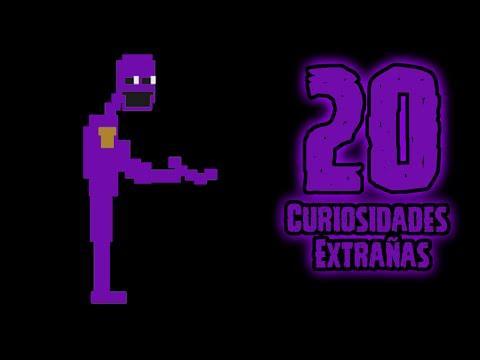 Top 20: Las 20 Curiosidades Extrañas De El Hombre Morado (Purple Man) |fnaf 3