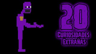 Top 20: Las 20 Curiosidades Extrañas De El Hombre Morado (Purple Man)  fnaf 3