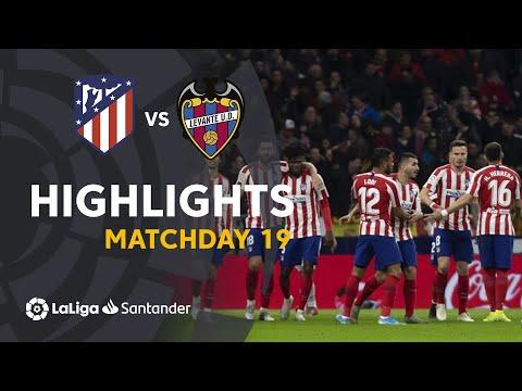 Highlights Atletico Madrid vs Levante UD (2-1)