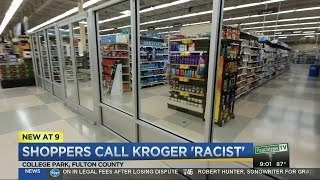 Customers outraged by caged aisles at Metro Atlanta Kroger