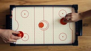 Table Top Mini Air Hockey - Unboxing & Game