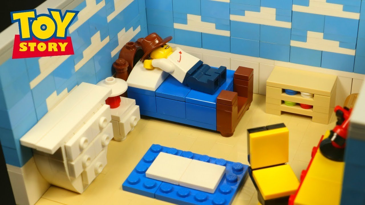 LEGO Andy's Bedroom from Toy Story!!⎪A LEGO MOC