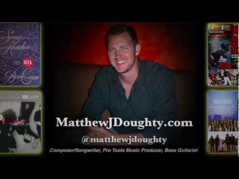 Matthew J Doughty Custom Music Composer - MJD Music Studio Tour Trailer 1080HD