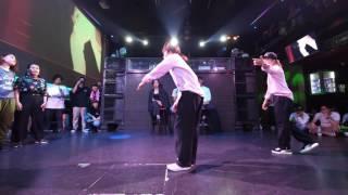ファンファーレ vs ベイビーでこガパオ BEST16 Beat Around vol.18 慶應大 ダンスサークル Revolveイベント