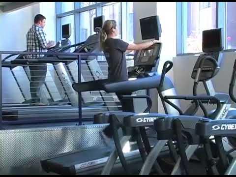 新的健身中心旅游在Pilarz大厅
