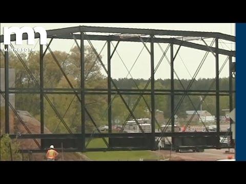 Historic Iron Truss Bridge Relocation